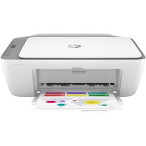 HP DeskJet 2720 All-in-One Printer, Cement/Grey