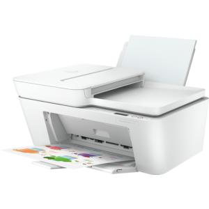 HP DeskJet Plus 4120 All-in-One Printer, Cement/Grey
